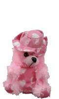 Ekku Hat Teddy Bear  - 15 Inch (Pink)