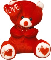 Green Apple Musical Love Teddy Bear  - 16 Inch (Red)