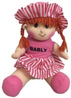 Atc Toys Sweety Doll Soft Toy  - 30 Cm (Pink)
