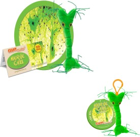 GIANTmicrobes Nerve Cell Plush Doll and Keychain Combo - 7.5 Inch