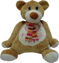 Play N Pets Animal Soft Toy - Bear  - 13.77 inch - Light Brown
