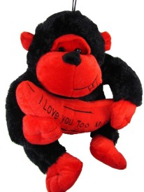 Tickles Monkey with Banana - 12 inch