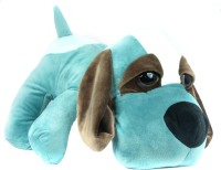 Tiny Tickle Cute Sky Blue Dog (Basset Hound) Premium Soft Toys For Kids  - 20 Cm (Sky Blue)