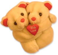 Tokenz Joys Of Togetherness : Teddy Bears  - 6 Inch (White)