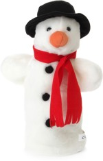 The Puppet Company Soft Toys The Puppet Company Snowman 7.99 inch