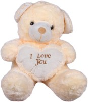 Joy Teddy Bear - 17 Inch (White)