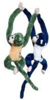 Atc Toys Bule Green Pair Monkey  - 60 Cm (Green)