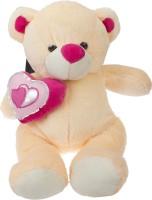 Sana Sweet Bear With Heart 40 Cm  - 40 Cm (Cream)