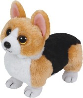 Jungly World Otis-Corgi Brown Dog Reg  - 6 Inch (Multicolour)