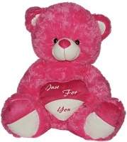 Tiny Tickle TinyTickle Just For You Teddy Bear Soft Toys For Kids  - 80 Cm (Pink)