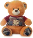 Dimpy Stuff Bear W/Premium T-Shirt Sitting 55Cm - 55 cm: Stuffed Toy