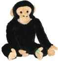 Animal Planet Plush with Sound Chimpanzee  - 10 inch - Black, Beige