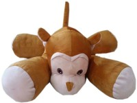 Play Toons Floppy Monkey  - 24 Inch (Brown)