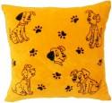 Fun&Funky Dog Printed Cushion  - 10 Inch - Multicolor