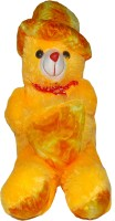 Jai Textiles U-Turn Teddy Bear  - 26 Inch (Yellow)