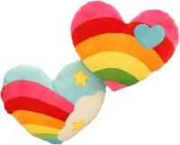 StyBuzz Rainbow Heart Combo  - 16 Inch (Multicolor)