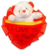 Tokenz Memories Of Good Times : Teddy Bears  - 8 Inch (Red, White)
