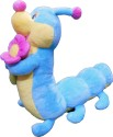 Soft Buddies Catterpiller With Flower  - 12 Inch - Multicolor