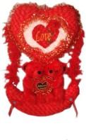 MFT Swing Couple Teddy Love Xl  - 38 Inch (Red)