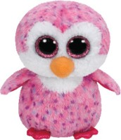 Jungly World Glider-Pink Penguin Reg  - 6 Inch (Multicolour)