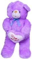 Ktkashish Toys Kashish Cute Teddy Bear 24 Inch  - 24 Inch (PURPLE)