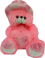 Jai Textiles U-Turn Teddy Bear  - 18 Inch (Pink)