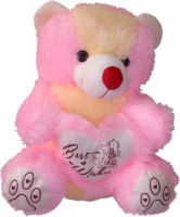 Elegance Sitting Teddy 20 Inches Pink Butter  - 31 Cm (Pink Butter)
