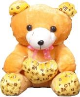 VRV Soft Toys Yellow Teddy Bear  - 25 Cm (Yellow)