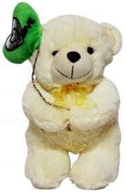DealBindass Valentine Stuff Toy Teddy Bright Bear Heart Flying - 30 Cms