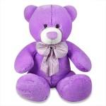 Archies Soft Toys Archies Huggable Purple Teddy Bear 19.5 inch