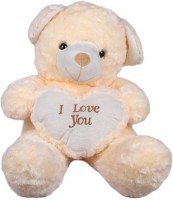 Joy Teddy Bear  - 11 Inch (White)