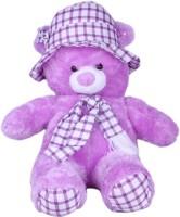 Joy Playable Romeo Teddy  - 21 Inch (Purple)