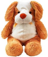 Tokenz Dog With Big Ears Teddy Bears  - 24 Inch (Brown, White)