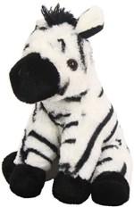 "Wild Republic Soft Toys Wild Republic Ckmini Zebra Ba 8"" Animal Plush"