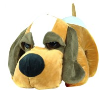 Tiny Tickle Cute Begie Dog (Basset Hound) Premium Soft Toys For Kids  - 20 Cm (Begie)