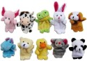 Phoenix Finger Puppets Set Of 10 - 3.5 inch: Stuffed Toy