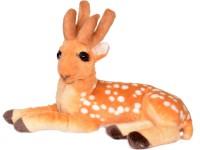 Toy Slam Soft Cute Deer Combo(Pack Of 2) - 49 Cm  - 20 Cm (Brown)