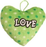 Lehar Toys Green Heart Car Hanging  - 16 Cm (Green)