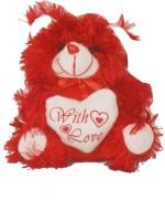 Oril Lovely Teddy Bear  - 8 Inch (Red)
