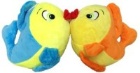 SCG Adorable Small Combo Fish Soft Toy High Quality  - 20 Cm (Blue, Orange)
