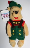 Disney October Fest Pooh Mini Bean Bag Plush (Brown)