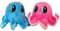 SCG Cute Small Combo Octopus Soft Toy,High Quality  - 22 Cm (Blue, Pink)