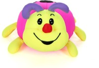 Giftwish Stuffed Toy Lady Bug Pink Lycra Soft Toy- L 33 Cm  - 16 Cm (Pink)
