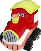 Soft Buddies Plush Toy Engine  - 4 Inch (Red)