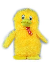 Tiny Tickle Yellow Duck Premium Soft Toys For Kids  - 10 Cm (Yellow)