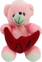 Jai Textiles U-Turn Teddy Bear 18 Inch  - 18 Inch (Pink)