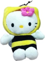 Hello Kitty Bumble Bee Costume  - 8 Inch (Yellow, White)