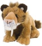 "Wild Republic Soft Toys Wild Republic Cuddlekins 12"" Smilodon"