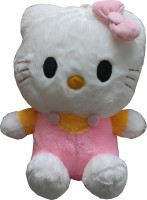 Tipi Tipi Tap Hello Kitty With Cotton Fur Soft Toy  - 38 Cm (Multicolor)