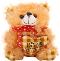 Arihant Online Brown Spongy Teddy Bear  - 7 Inch (Brown)